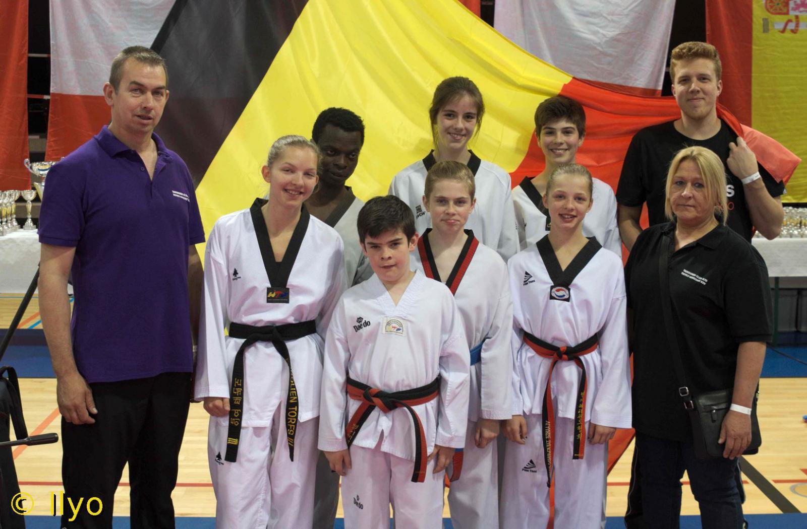 club taekwondo charleroi